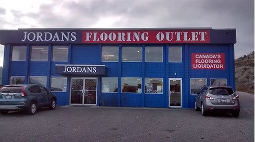 Jordans Flooring Outlet | Kamloops Store