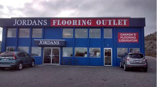 Jordans Flooring Kamloops Store | Commercial Division