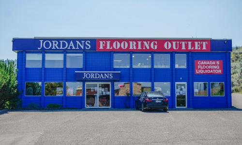 Jordans Flooring Outlet Kamloops Storefront
