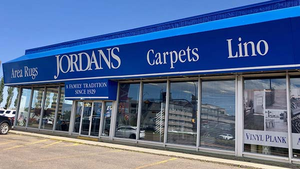 Jordans Flooring Edmonton Storefront Photo