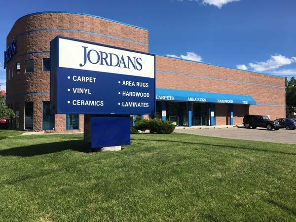 Jordans Flooring Calgary Store Photo